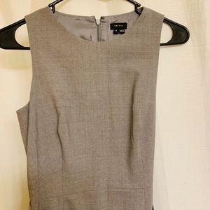 Theory grey shift dress